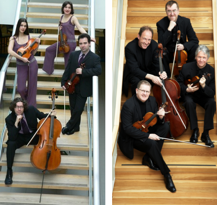 RTÉ Vanbrugh Quartet and Contempo Quartet