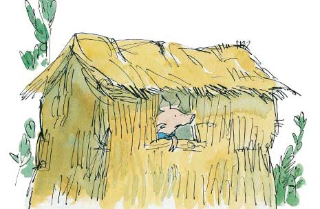 the three little pigs roald dahl Poems by roald dahl: what do you see when you close your eyes and think of the wolf from the story of the ''the three little pigs roald dahl was fantastic at.